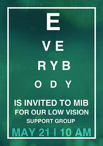 May Low Vision Meeting
